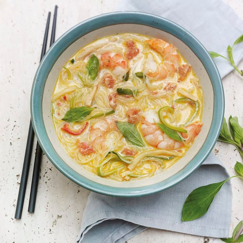 Photo de Soupe thaïe aux crevettes prise par WW