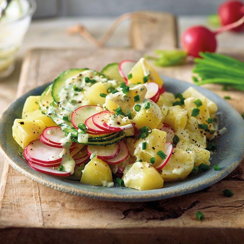 Photo de Salade de pommes de terre aux radis prise par WW