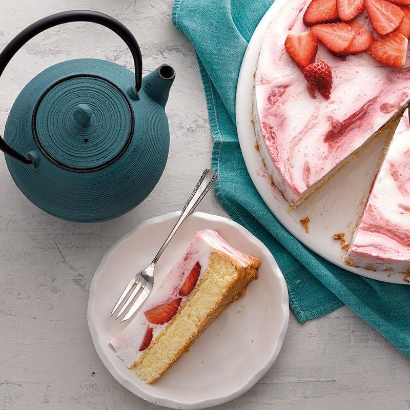 Photo de Gâteau  babeurre-fraises prise par WW