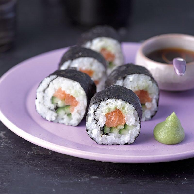 Photo de Maki au saumon prise par WW