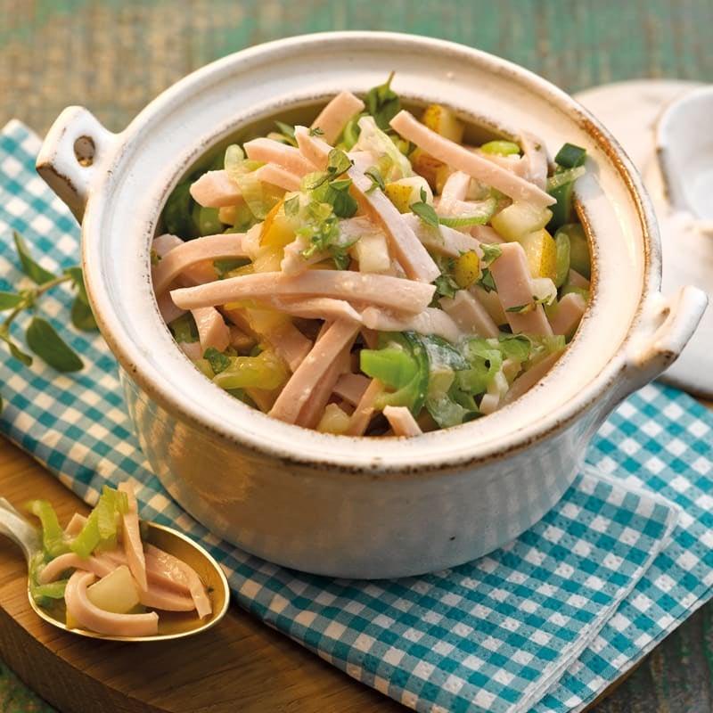 Foto Wurst-Lauch-Salat von WW