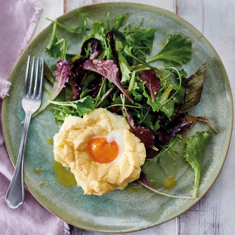 Foto Cloud Eggs auf Salat von WW