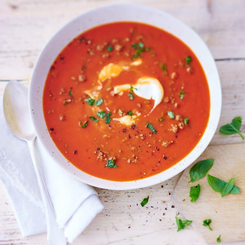 Photo de Soupe de tomate à la viande hachée prise par WW