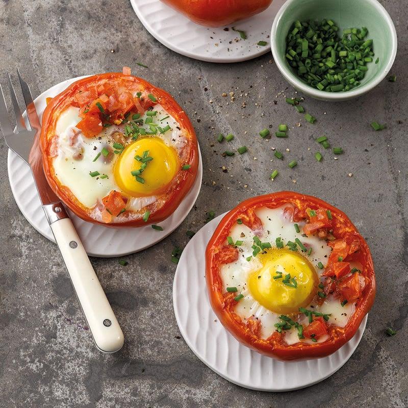 Photo de Tomates farcies aux oeufs prise par WW