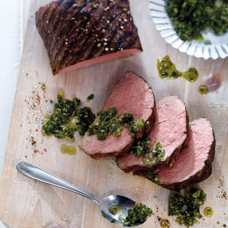Photo de Filet de boeuf sauce chimichurri prise par WW