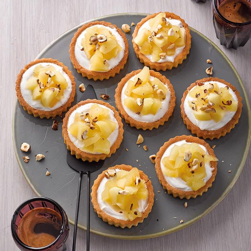 Photo de Mini tartelettes pommes-vanille prise par WW