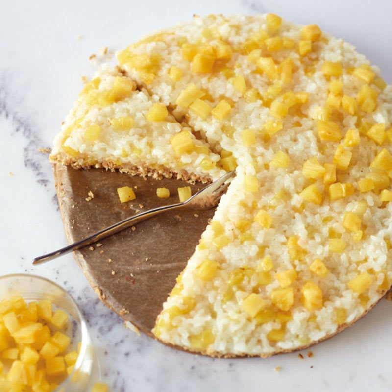 Foto Ananas-Reis-Torte mit Kokosboden von WW