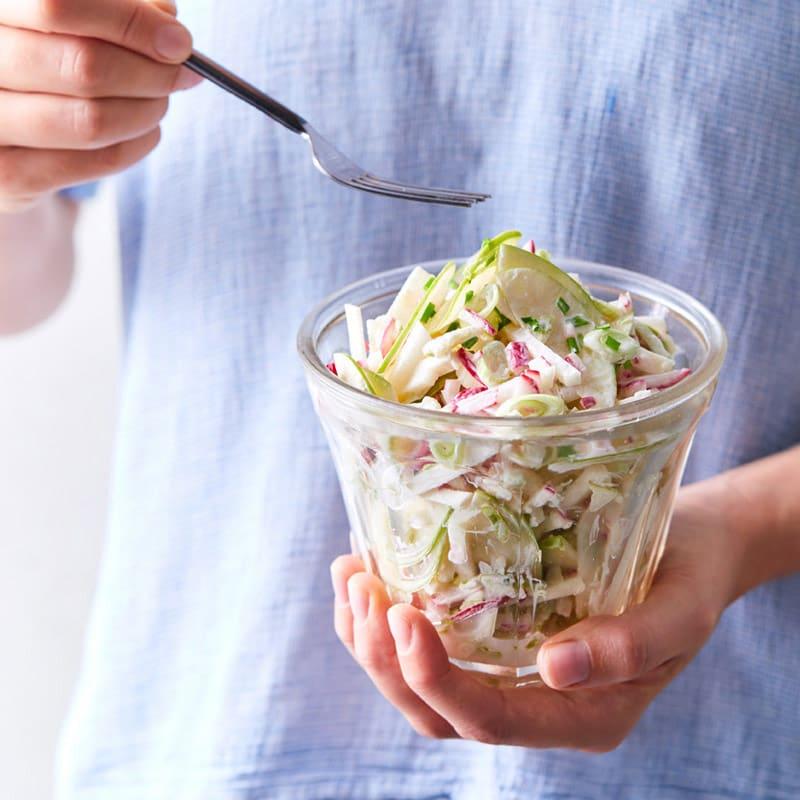 Foto Apfel-Radieschen-Salat von WW