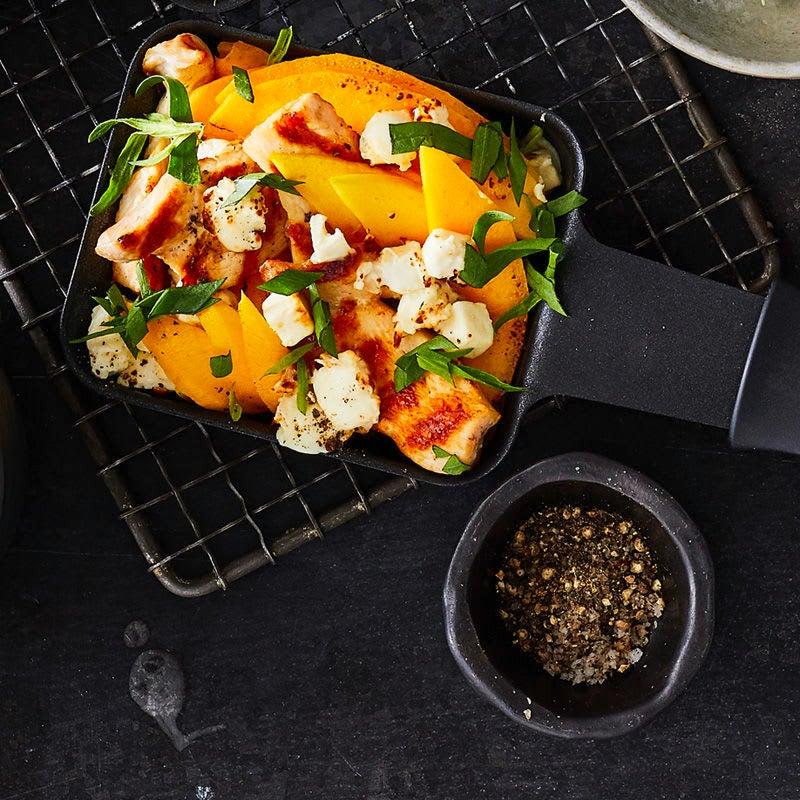 Photo de Raclette mangue-poulet prise par WW