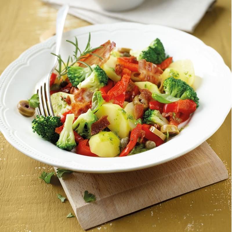 Photo de Salade de pommes de terre à la méditerranéenne prise par WW