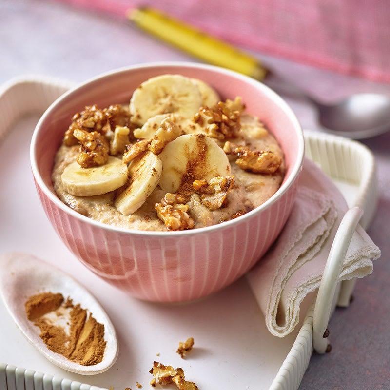 Photo de Porridge bananes-noix caramélisées prise par WW