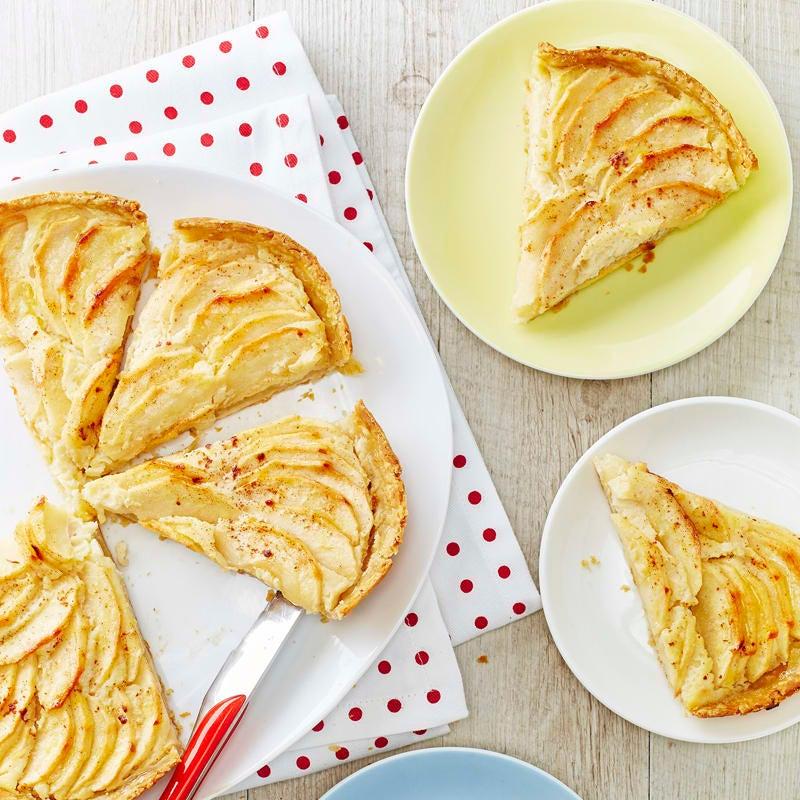 Foto Apfelkuchen mit Haferflocken von WW