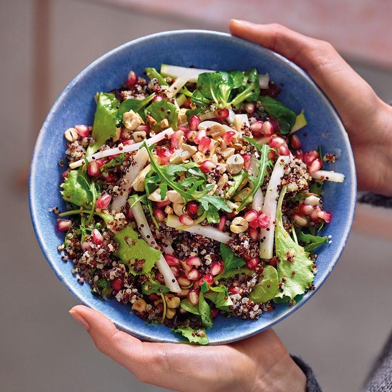 Photo de Salade de quinoa aux noix de cajou et à la grenade prise par WW