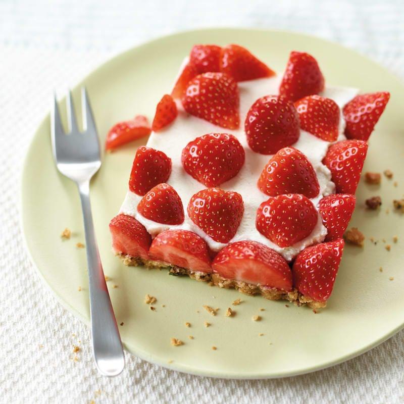 Foto Erdbeer-Joghurt-Schnitte von WW