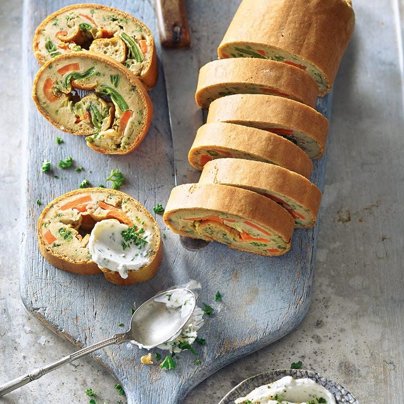 Foto Herzhafte Gemüse-Ofen-Roulade von WW