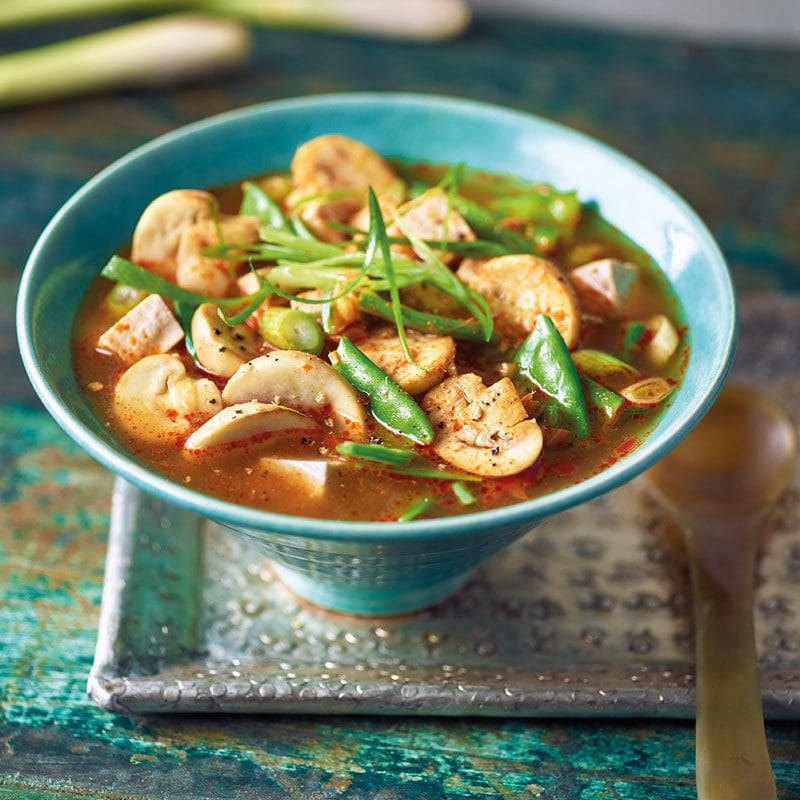 Photo de Soupe Tom Yum au tofu soyeux prise par WW