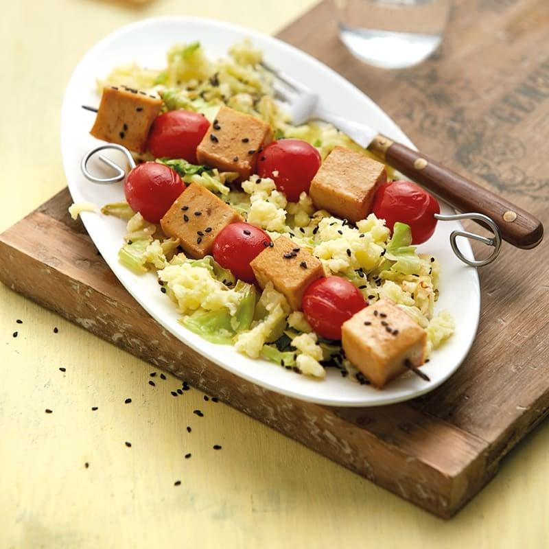 Photo de Brochettes de tofu prise par WW
