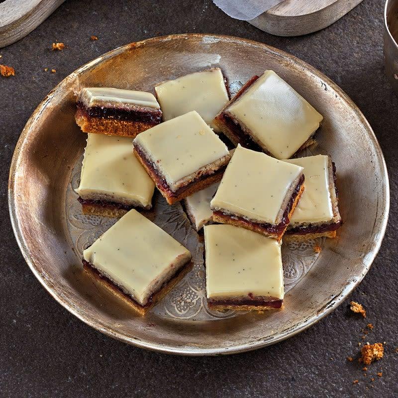 Photo de Biscuits dominos au chocolat blanc prise par WW