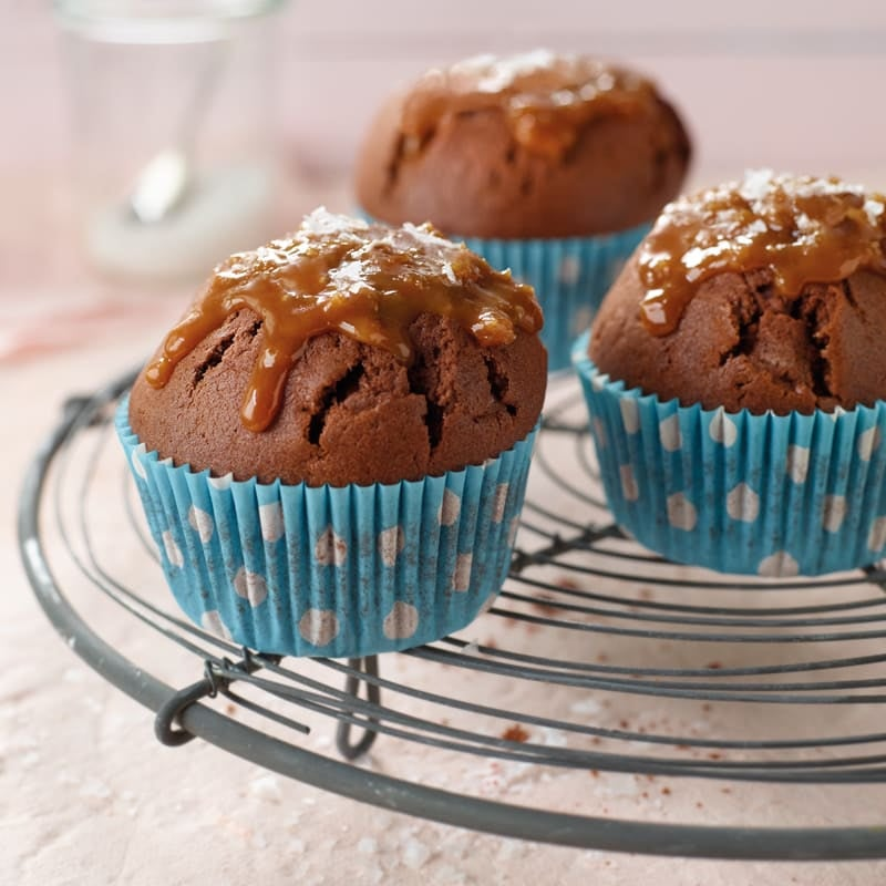 Photo de Muffins chocolat/caramel salé prise par WW
