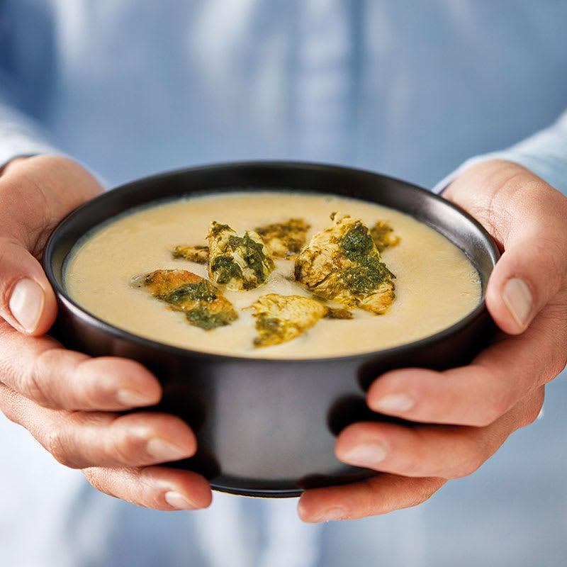 Photo de Soupe de chou-rave et émincé de poulet aux fines herbes prise par WW