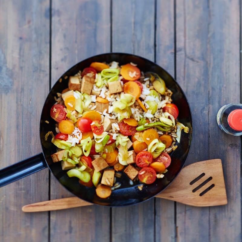 Photo de Poêlée de riz et de légumes minute prise par WW