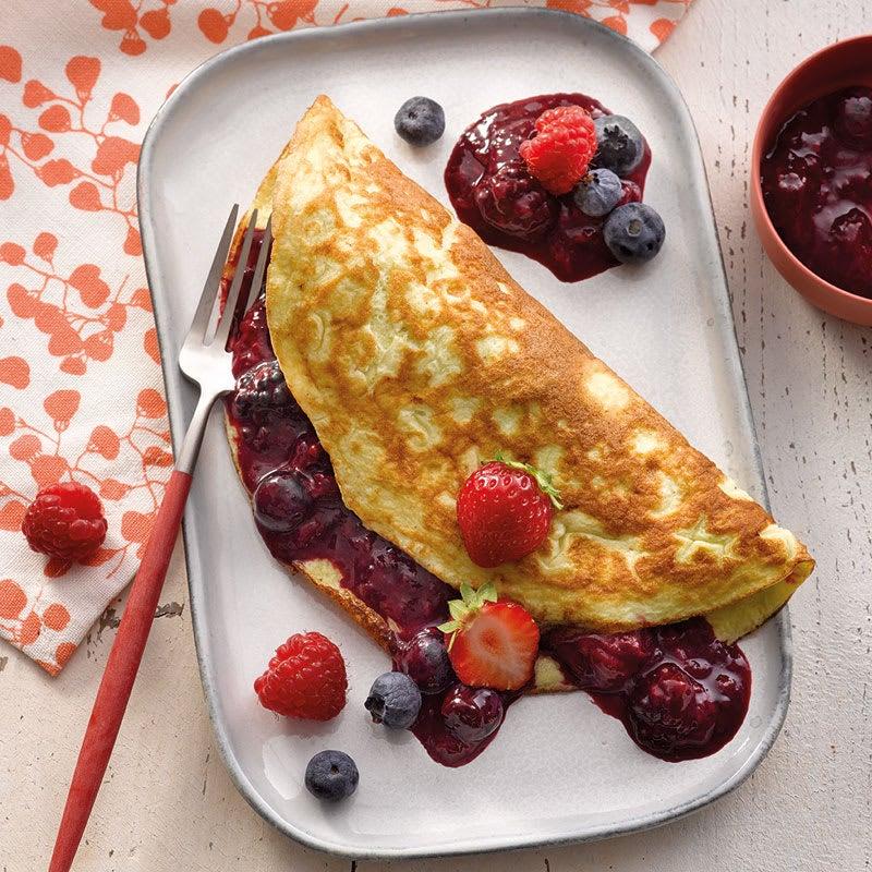 Photo de Omelette aux fruits des boix prise par WW