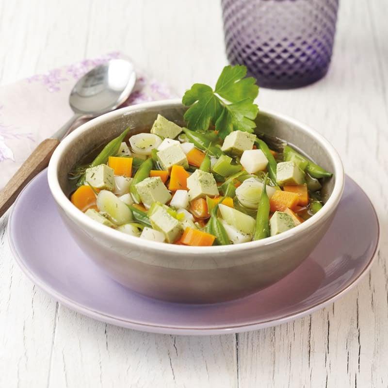 Photo de Soupe de légumes à la royale prise par WW