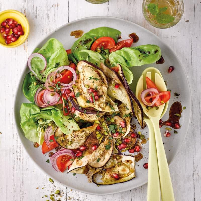 Photo de Salade d'aubergine grillée à l'orientale prise par WW