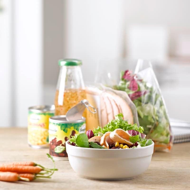 Foto To-go-Supermarkt-Salat von WW