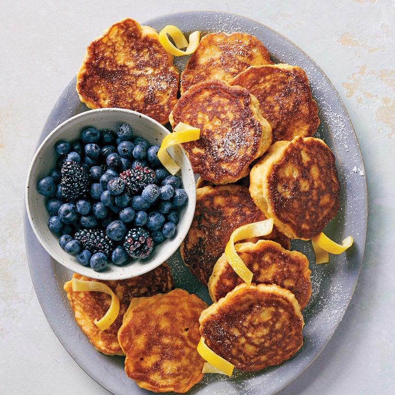 Foto Fluffige Zitronen-Ricotta-Pancakes von WW