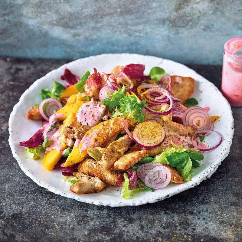 Photo de Salade mêlée gourmande prise par WW
