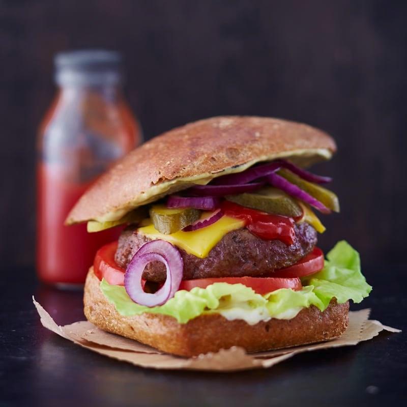 Foto Cheeseburger von WW
