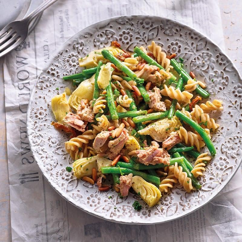 Photo de Salade de thon, pâtes et haricots prise par WW