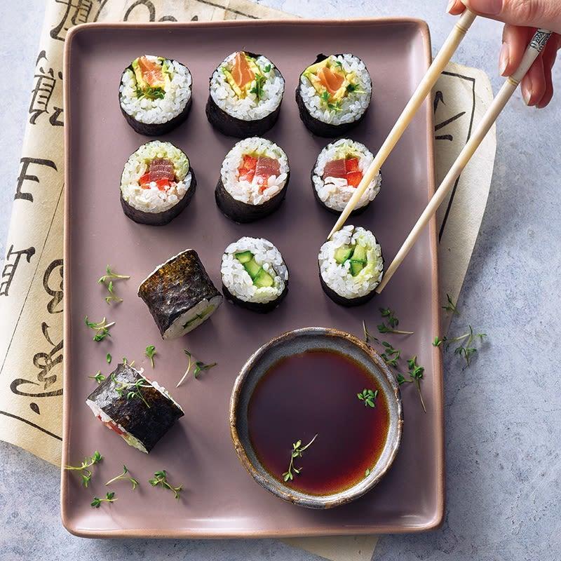 Foto Maki mit Lachs und Avocado von WW