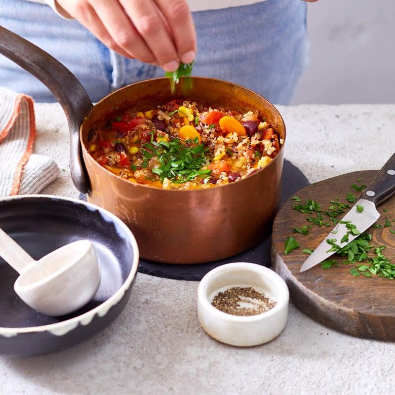 Photo de One-Pot chili de quinoa prise par WW