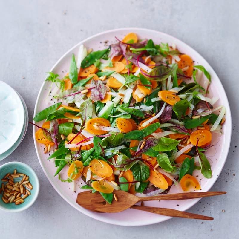 Foto Kohlrabi-Karotten-Salat mit Apfeldressing von WW