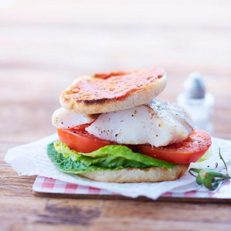Photo de Burger de poisson prise par WW