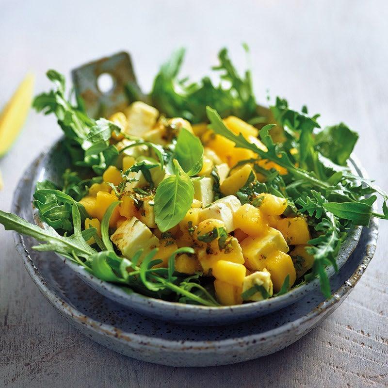 Photo de Salade de roquette à la mangue et à la feta prise par WW