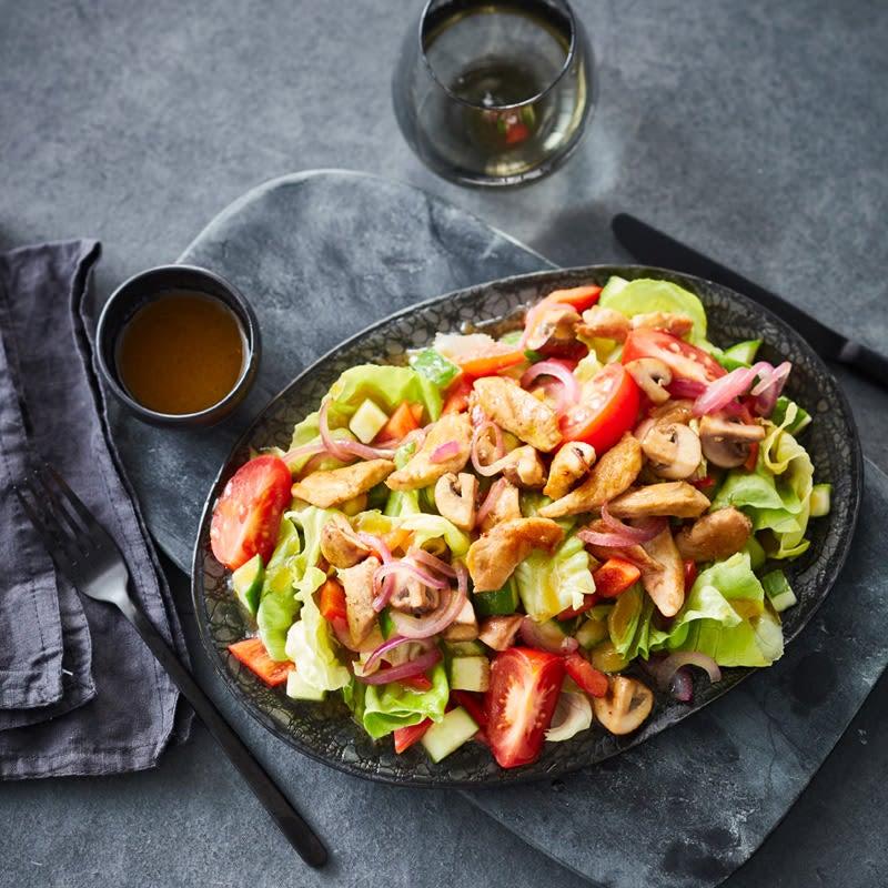 Photo de Salade mélée au poulet prise par WW