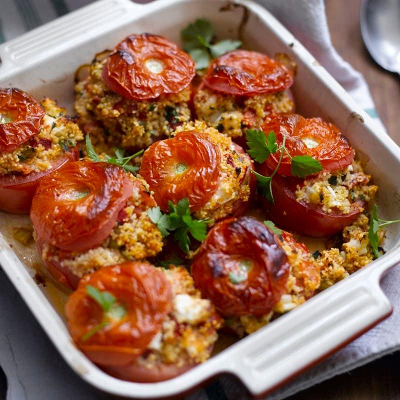 Photo de Tomates farcies à la féta prise par WW