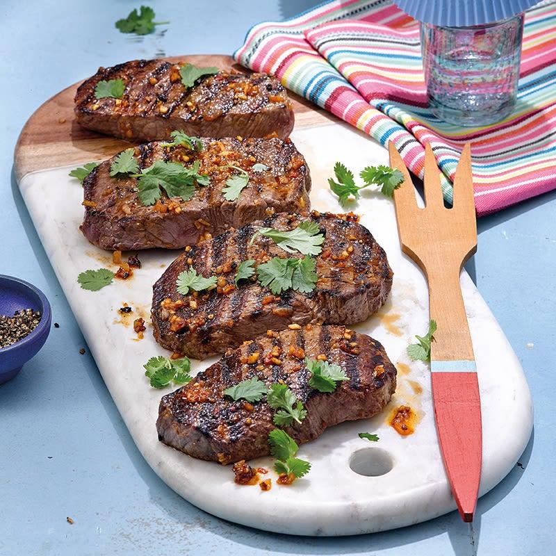 Photo de Steak épicé à la coriandre prise par WW