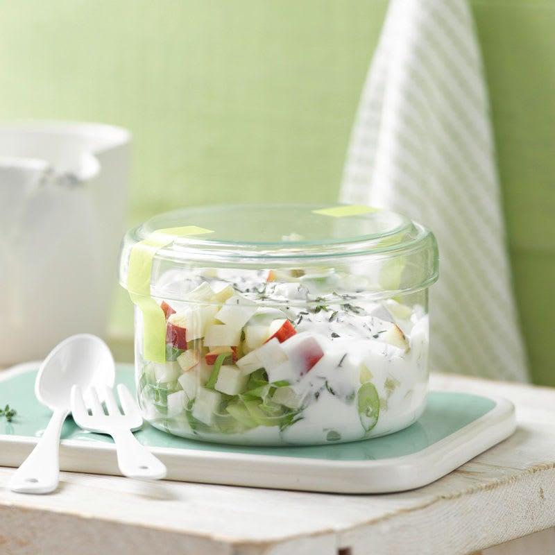 Foto Apfel-Kohlrabi-Salat mit Thymiandressing von WW