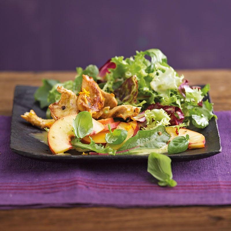 Photo de Salade pêche/poulet prise par WW