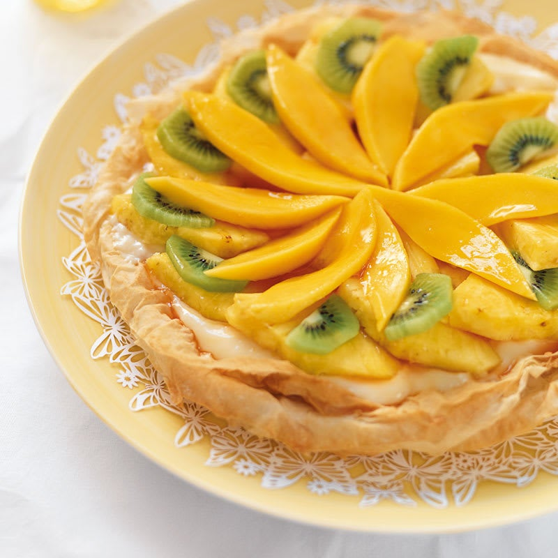 Photo de Tarte aux fruits exotiques prise par WW