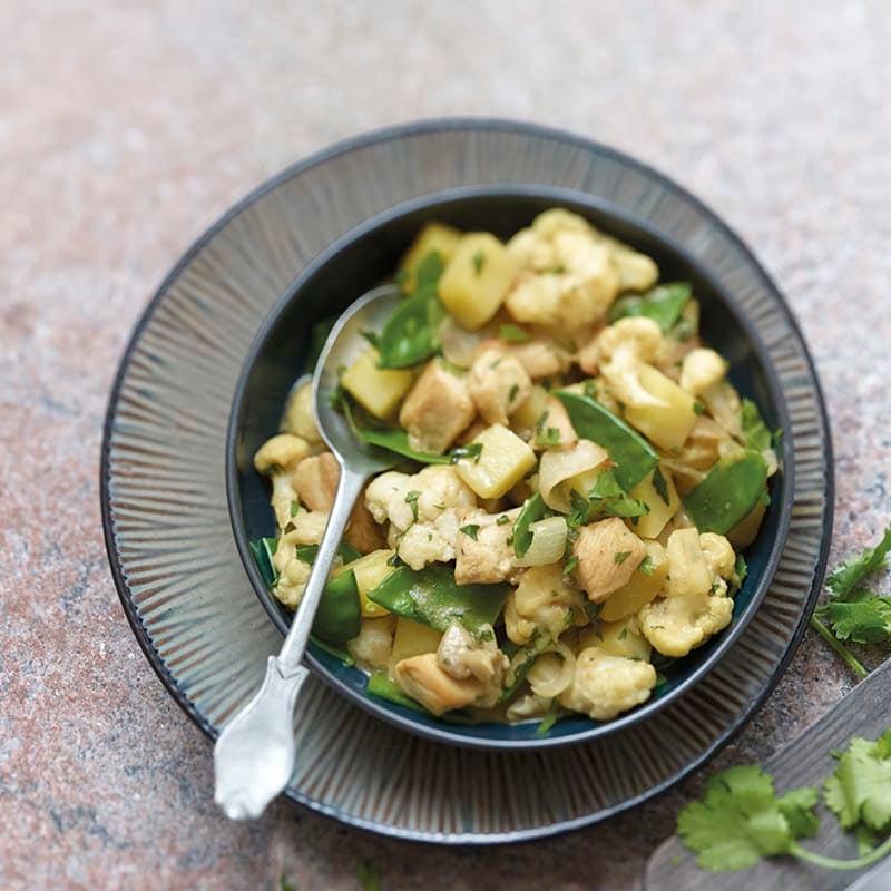 Photo de Curry de pommes de terre au poulet prise par WW