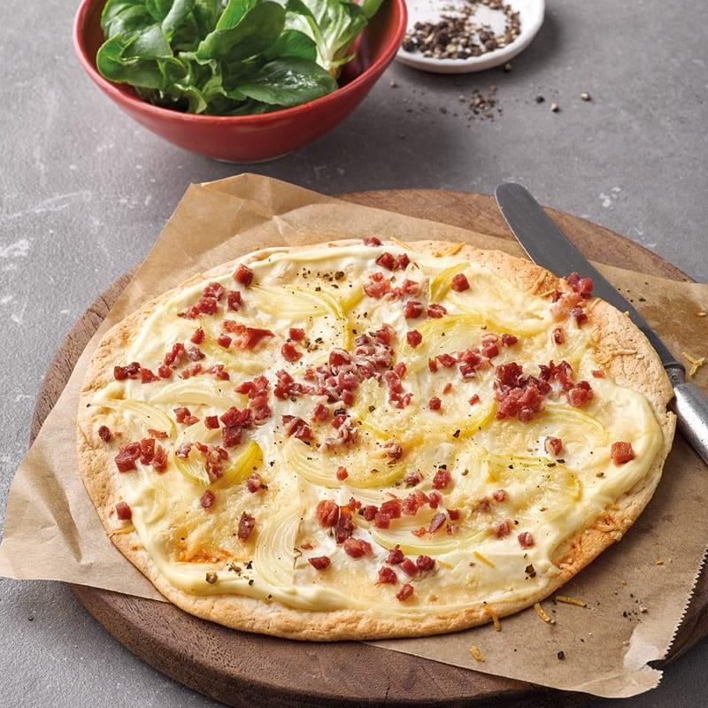 Photo de Pizza éclair à l'alsacienne prise par WW