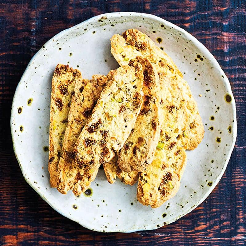 Foto Pistazien-Feigen-Biscotti von WW