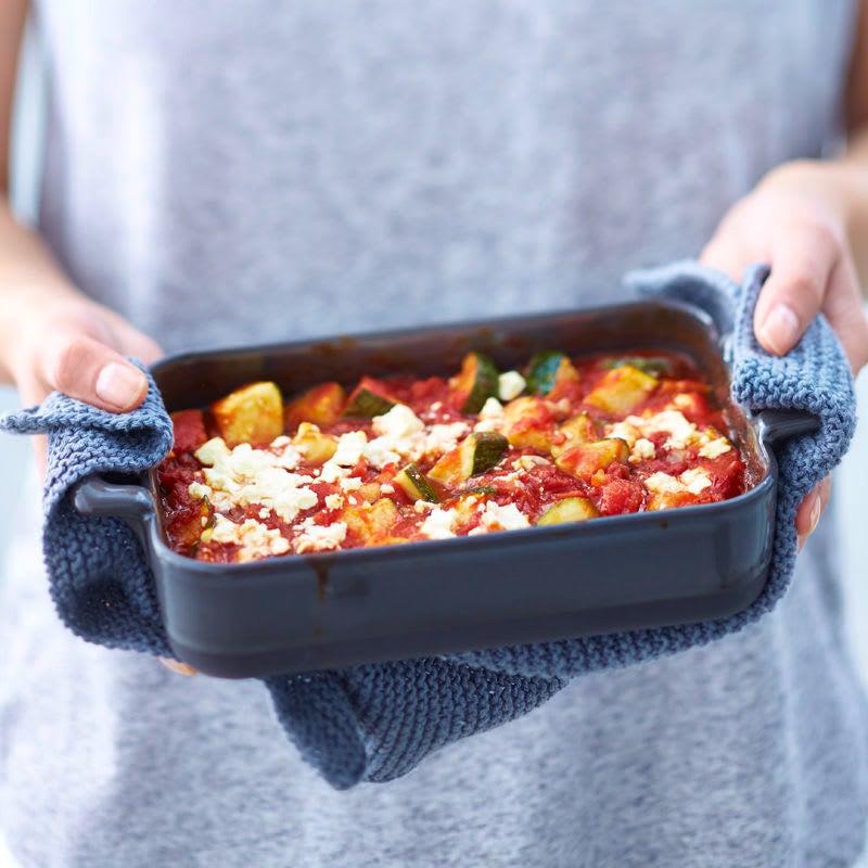 Foto Zucchini-Tomaten-Auflauf von WW