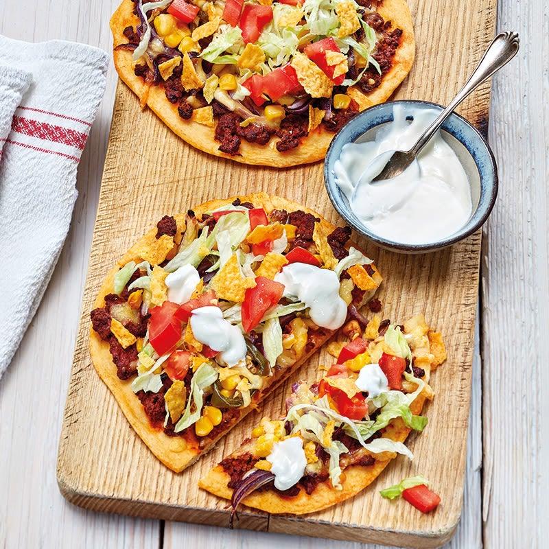 Photo de Taco-Pizza à la mexicaine prise par WW