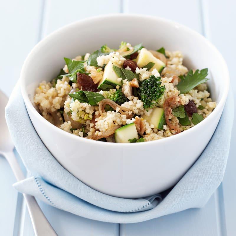 Photo de Salade de couscous à la menthe et aux raisins secs prise par WW
